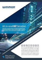 ERP Software WinMan brochure