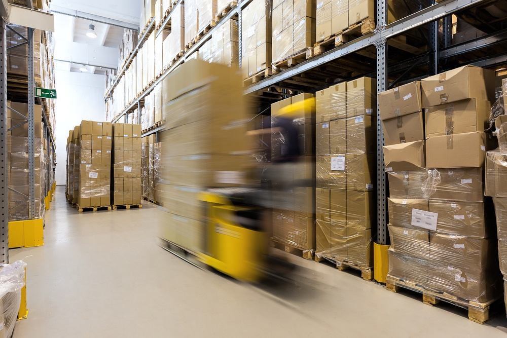 The advantages of using a warehouse management system